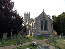 Fulbeck St Nicholas - Church from the east.jpg