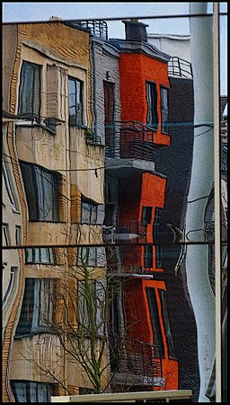 Funhouse Mirror in the City - panoramio