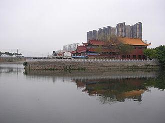 Fuqing - On the Longjiang River in Downtown Fuqing