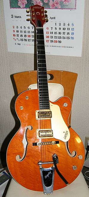 Who's Next - Pete Townshend was given a Gretsch 6120 guitar from Joe Walsh in early 1971, and it became his main electric instrument for Who's Next.