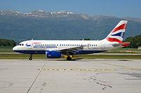 G-EUPU - A319 - British Airways Shuttle