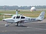 G-SPWP Cirrus SR22 (35436389244).jpg