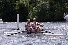 Rowing coxless pair (2 -).