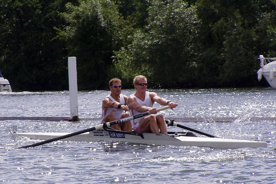 GB Pair at Henley 2004