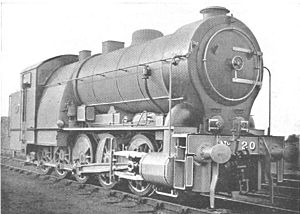 GER Class A55 - Image: GER Decapod