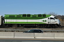 An Mpi Mp54ac Locomotive In The New Go Transit Livery Is Launch Customer Of This Model