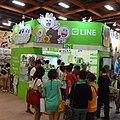 GTV Hello-Friends-Line in Comic Exhibition 20130817.jpg