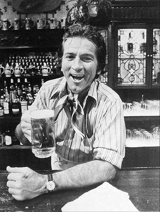 Gabriel Dell - Dell as Harry Grant in The Corner Bar, 1972.