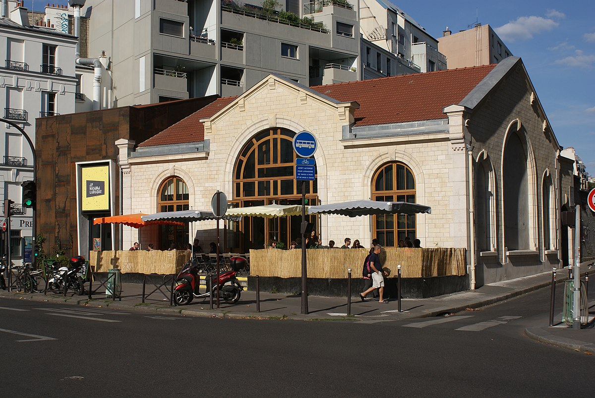 Gare de l 39 avenue de saint ouen wikip dia for Garage de la gare bretigny