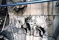 Gargouilles Tour Saint Jacques, Paris, Accès échafaudage durant rénovation 2003 (9235791743).jpg