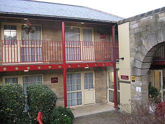 Hillsborough Barracks - former cells now hotel rooms