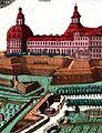 Gebäudegruppe der Münze im Wallgraben um 1740.JPG