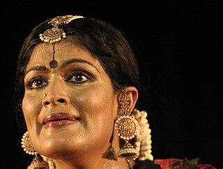 Geeta Chandran Bharatnatyam dancer from Delhi, India.