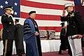 Gen. Martin E. Dempsey returns a salute to a U.S. Marine Corps cadet, 2012.jpg