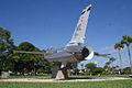 General Dynamics F-16A Fighting Falcon 81-0721 Block 15 BelowLRear MacDill Air Park 24July2010 (14650534593).jpg