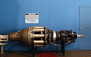 General Electric T31, Presidential Gallery, National Museum USAF.jpg