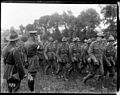 General Godley reviews New Zealand troops after the Battle of Messines (21271556912).jpg