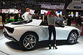 Geneva MotorShow 2013 - Italdesign Giugiaro Parcour XGT-Roadster rear left view.jpg