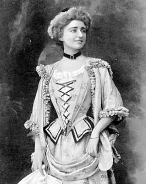 Geneviève Vix - Vix in the title role of Massenet's Manon in 1906.