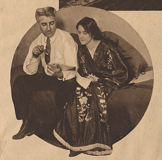 Susan Glaspell - Glaspell and husband George Cram Cook in 1917