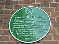 George Edward Ellison plaque outside Leeds City Station (25th April 2019).jpg