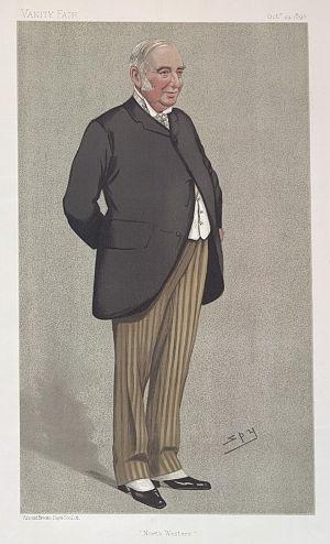 George Findlay (railwayman) - Image: George Findlay, Vanity Fair, 1892 10 29