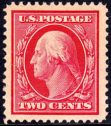 1st Washington Franklin Issued November 16th 1908 Olive Branches Design