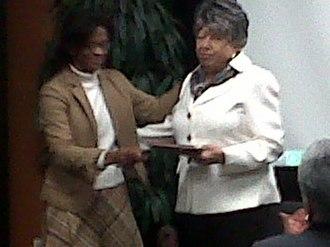 Georgia Davis Powers - Powers (right) in 2010