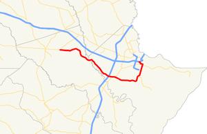 Georgia State Route 204 - Image: Georgia state route 204 map