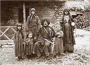 Georgische Familie