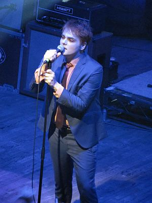 Gerard Way - Gerard Way at Webster Hall in New York City in October 2014