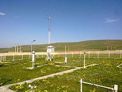 گزارش بازدید از ایستگاه هواشناسی سینوپتیک تکمیلی شهرستان رزن