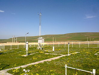 Germi weather station - Weather Station at Germi, Ardabil