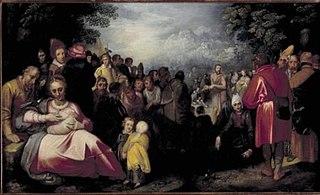 Prediking van Johannes de Doper
