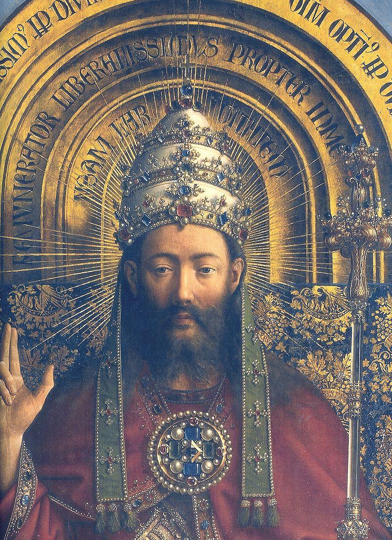 Krisztus a genti oltárképen