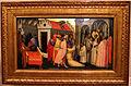 Gherardo starnina, sant'ugo di lincoln esorcizza un indemoniato, 1404-07, 01.JPG