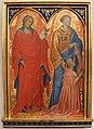 Gherardo starnina, ss. maddalena e lorenzo col donatore angelo acciuoli, 1404-07.JPG