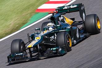 Giedo van der Garde - Van der Garde drove for Caterham in free practice for the 2012 Japanese Grand Prix.