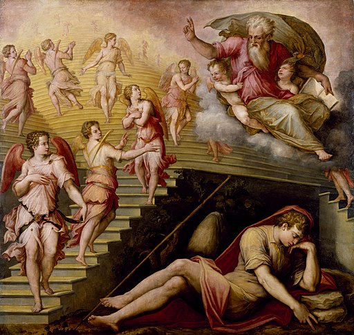 Giorgio Vasari II - Jacob's Dream - Walters 372508