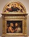 Giorgione o tiziano, cristo portacroce, 1505, lunetta della bottega di tiziano (padre eterno) 01.jpg
