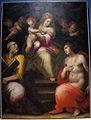 Giovan battista naldini, madonna coi ss. andrea e sebastiano, 1580 ca., da sacro cuore di fontanella (empoli) 01.JPG