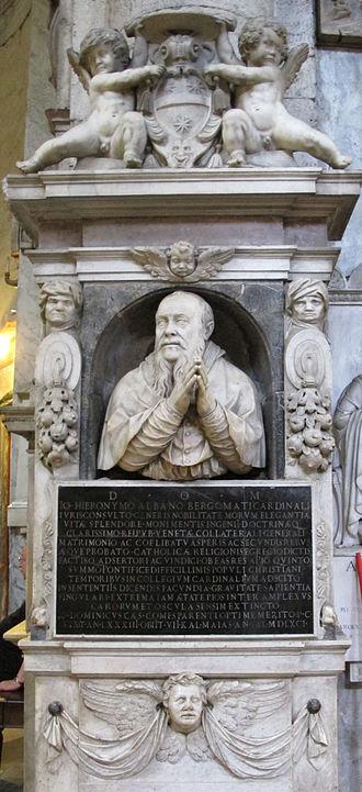 Gian Girolamo Albani - Monument to Albani in Santa Maria del Popolo.