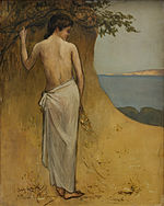 Girl by the Sea Puvis de Chavannes.jpg