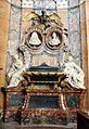Giuseppe mazzuoli (sculture) e nicola michetti (disegno monum.), monum. di lazzaro e maria camilla pallavicini, 1713-19, 01.jpg