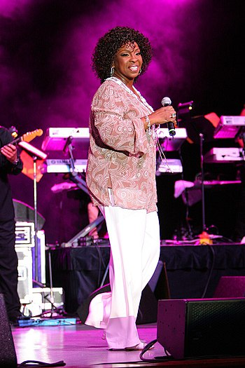 Gladys Knight in concert at the Chumash Casino...