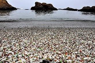 Glass Beach (Fort Bragg, California) - Image: Glass Beach Fort Bragg