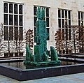 Glass Fountain Statue Ouside The Guildhall - City Of London. (33061283341).jpg