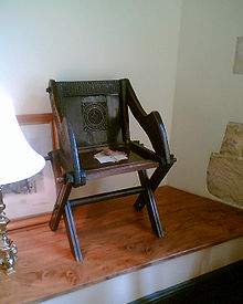 The Original Glastonbury Chair, In The Bishopu0027s Palace, Wells