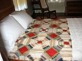 Gmas Room with quilt President Garfield Home.jpg