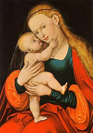 Maria Hilf (miraculous image) (Lucas Cranach the Elder)